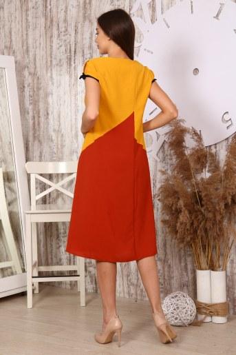 Платье 10396 (Горчица) (Фото 2)