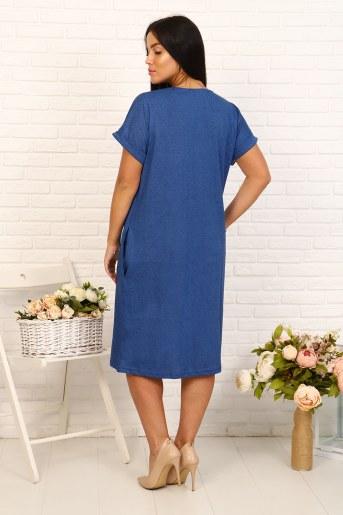 Платье 24223 (Джинс) (Фото 2)