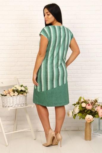 Платье 24221 (Зеленый) (Фото 2)