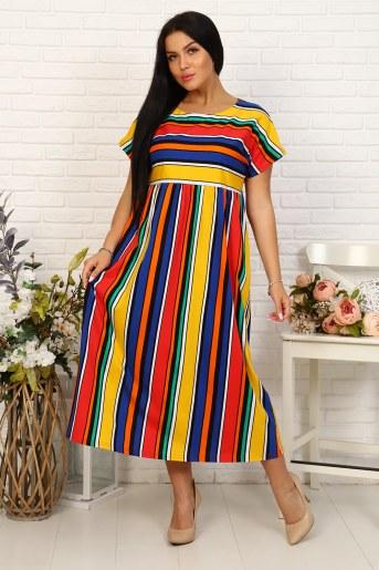 Платье 35024 (Полоса) - Фаина