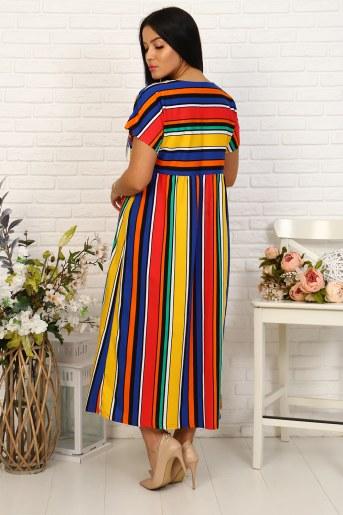 Платье 35024 (Полоса) (Фото 2)