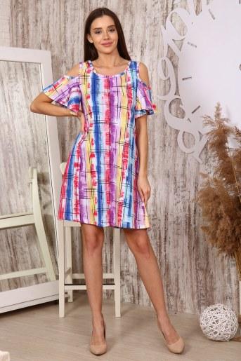 Платье 35519 (Радуга) - Фаина