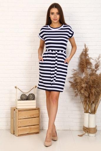 Платье 5707 (Полоса) - Фаина