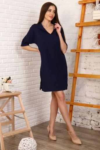 Платье 10398 (Синий) - Фаина