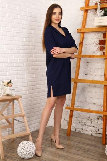 Платье 10398 (Синий) (Фото 2)