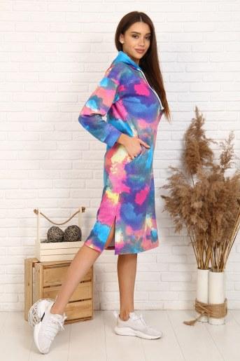 Платье 11582 (Радуга) - Фаина