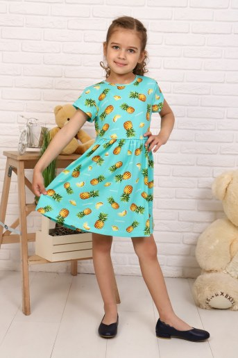 Платье Ананасы детское (Фото 2)