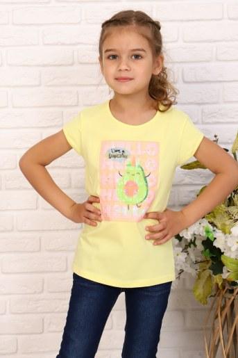Футболка Привет авокадо детская (Желтый) - Фаина