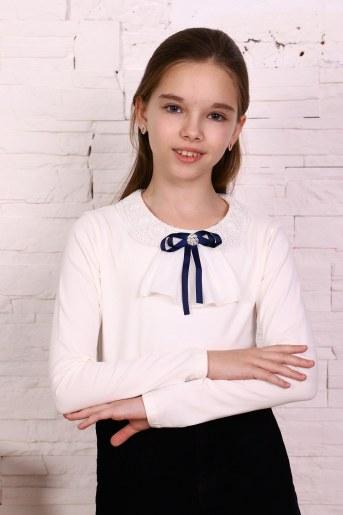 Джемпер Патрисия дл. рукав детский (Экрю) - Фаина