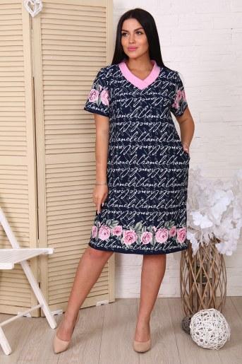 Платье 38502 (Розы) - Фаина