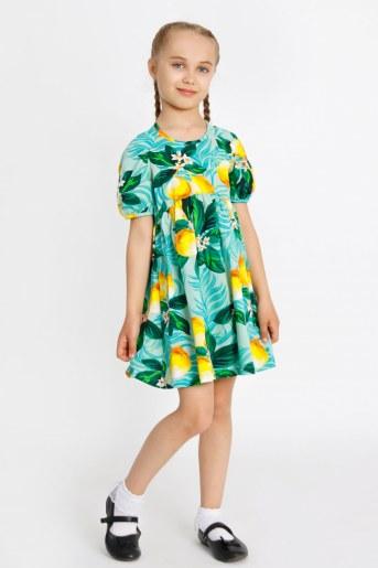 Платье Милолика детское (Зеленый) - Фаина