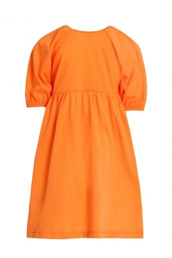 Платье Мозайка детское (Оранжевый) (Фото 2)