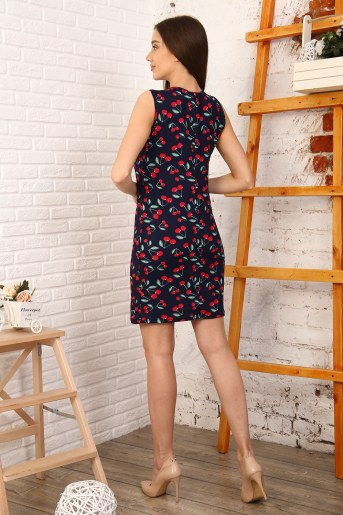 Платье 37005 (Вишня) (Фото 2)