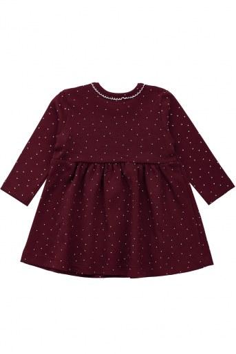 Платье ДИ102-7 детское (Бордо) (Фото 2)