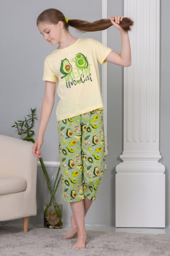 Пижама Эшли (Желтый) - Фаина