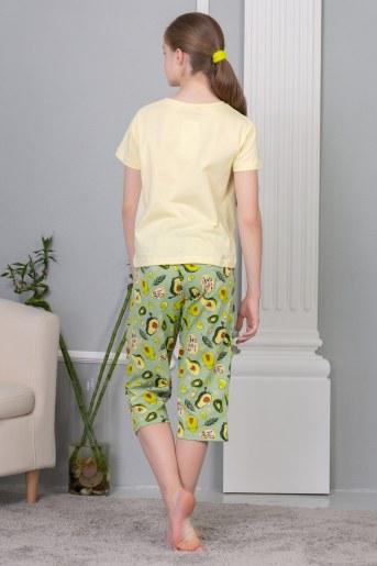 Пижама Эшли (Желтый) (Фото 2)