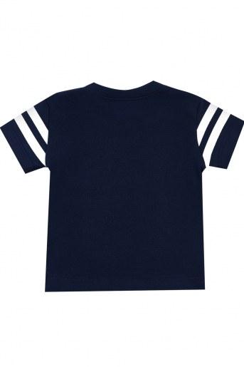 Футболка МИ101-12 кор. рукав (Темно-синий) (Фото 2)