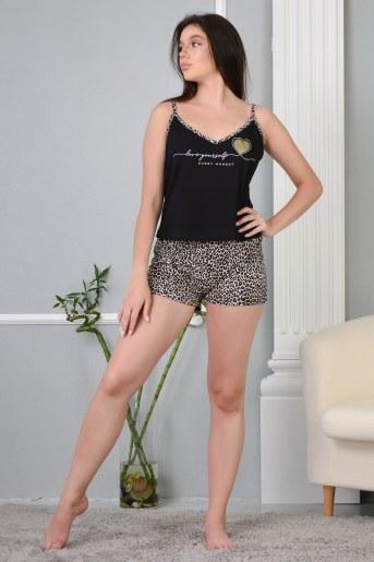 Пижама 13468 (Черный) - Фаина