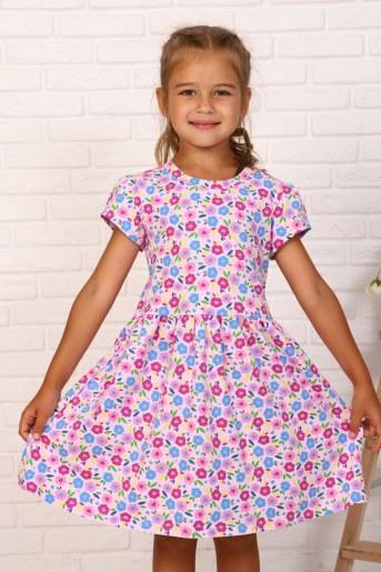Платье Нектар детское (Розовый) - Фаина