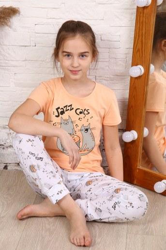 Пижама 15150 (Персик) - Фаина