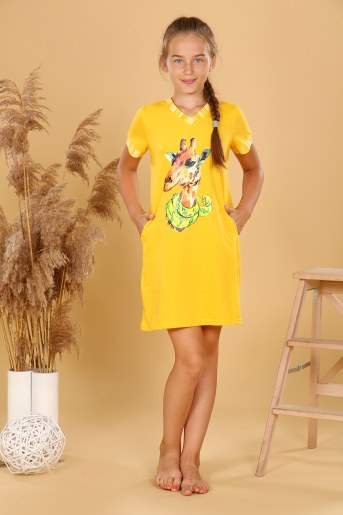 Туника 6214 детская (Желтый) - Фаина
