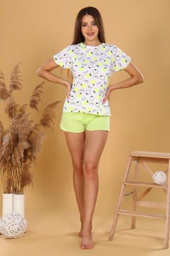 Пижама 35523 (Салатовый) - Фаина