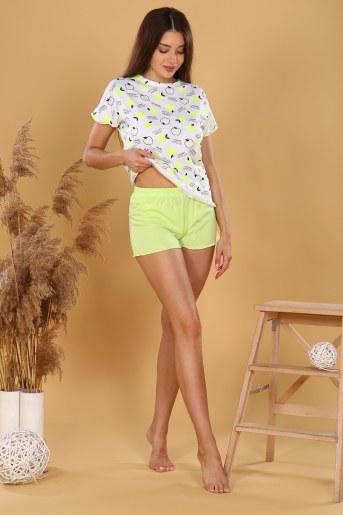 Пижама 35523 (Салатовый) (Фото 2)