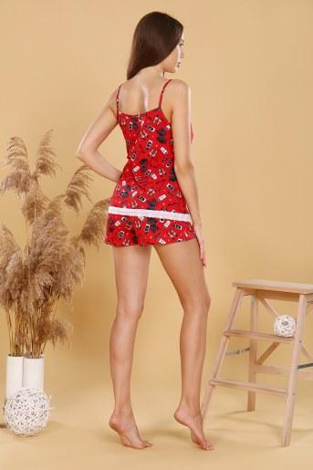 Пижама 18008 (Красный) (Фото 2)
