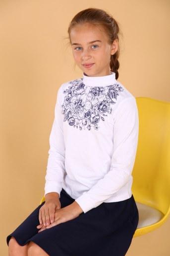 Водолазка 11596 детская (Белый) - Фаина