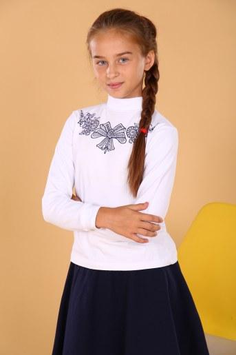 Водолазка 11597 детская (Белый) - Фаина