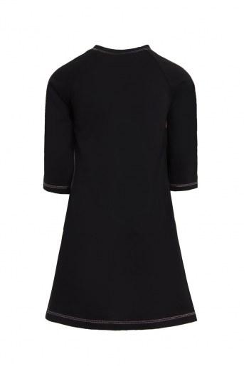 Платье Глори детское (Черный) (Фото 2)