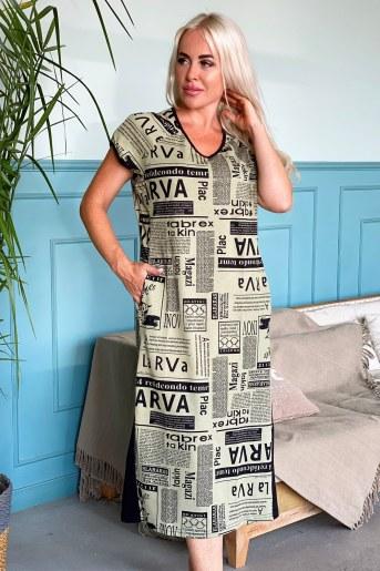 Платье 8147 (Газета) - Фаина