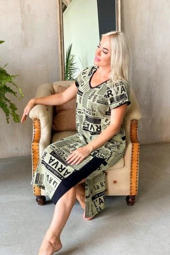 Платье 8147 (Газета) (Фото 2)