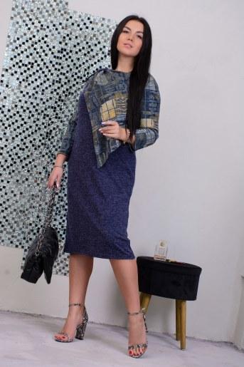 Платье 13491 (Синий) - Фаина