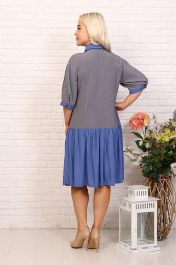 Платье 31545 (Голубой) (Фото 2)