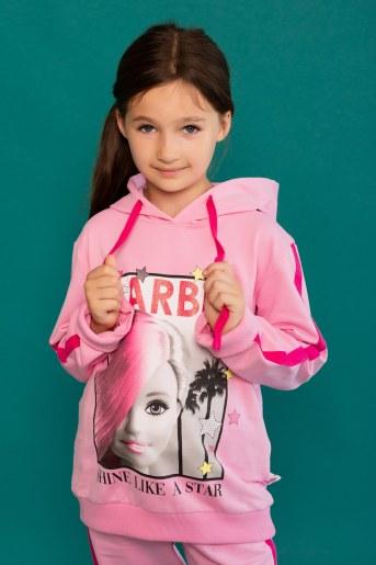 Худи 22469 Barbie (Розовый) - Фаина