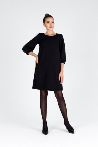Платье 19078 (Черный) - Фаина