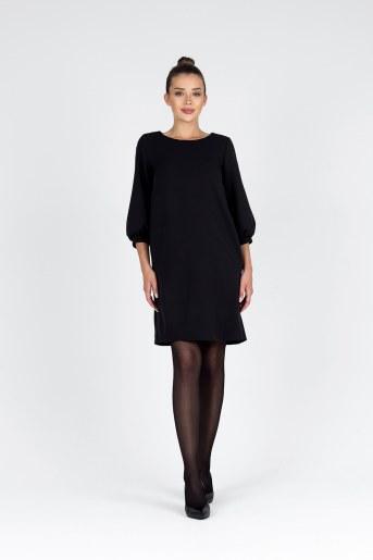 Платье 19078 (Черный) (Фото 2)