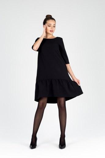 Платье 19077 (Черный) - Фаина
