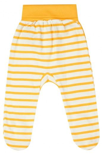 Ползунки A403 детские (Серый меланж_желтый) (Фото 2)