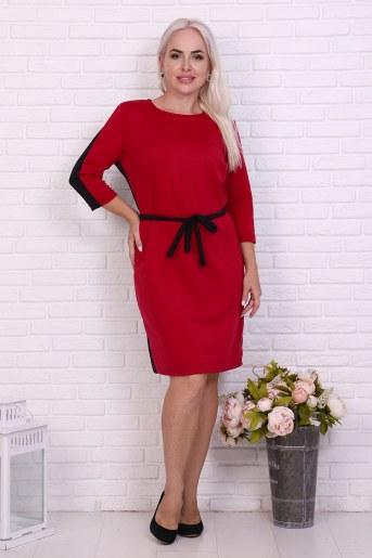 Платье 37019 (Бордо) - Фаина