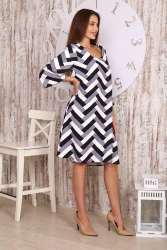Платье 20621 (Геометрия) (Фото 2)