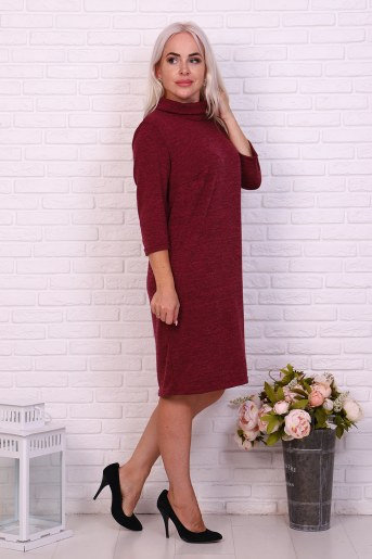 Платье 37020 (Брусничный) (Фото 2)