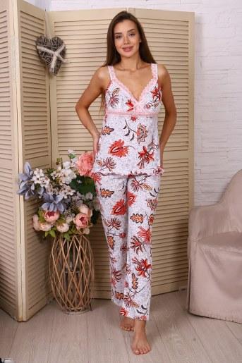 Пижама 25758 (Молочный) - Фаина