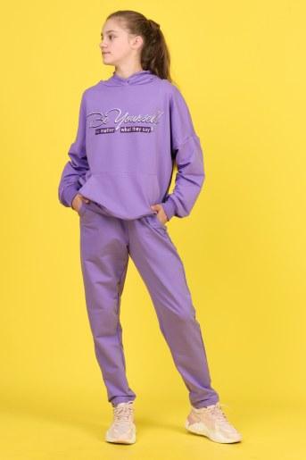 Брюки 21513 детские (Фиолетовый) - Фаина