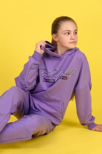 Толстовка 21512 детская (Фиолетовый) - Фаина