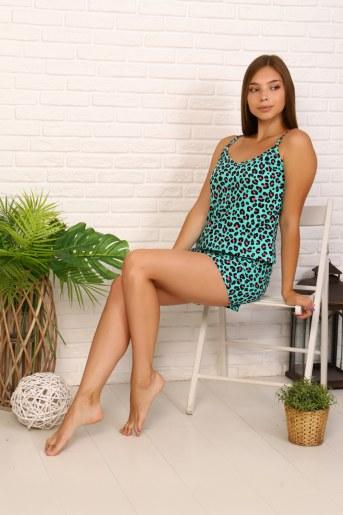 Пижама 11603 (Леопард) - Фаина