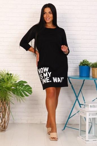 Платье 35061 (Черный) - Фаина