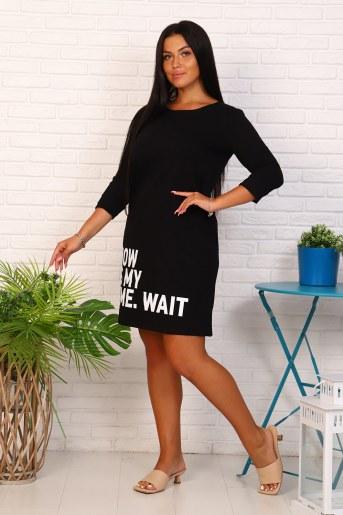 Платье 35061 (Черный) (Фото 2)