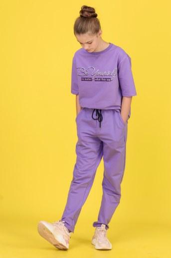 Костюм Ирис детский (Фиолетовый) - Фаина